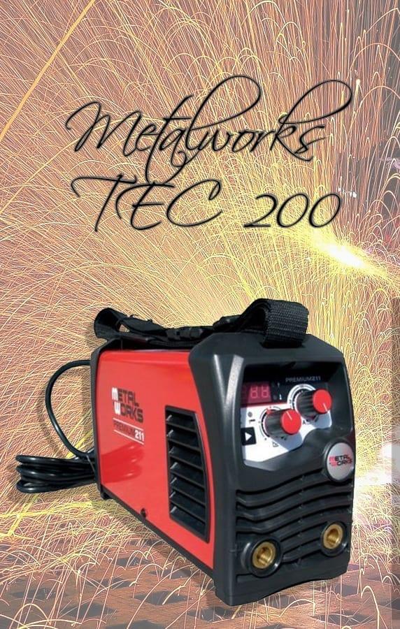 Test Metalworks TEC 200 - Soldadora digna del 2021