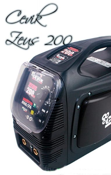 ▷ Soldadora Inverter CEVIK CE-ZEUS TIG 200MP ⭐ ANALISIS 2019