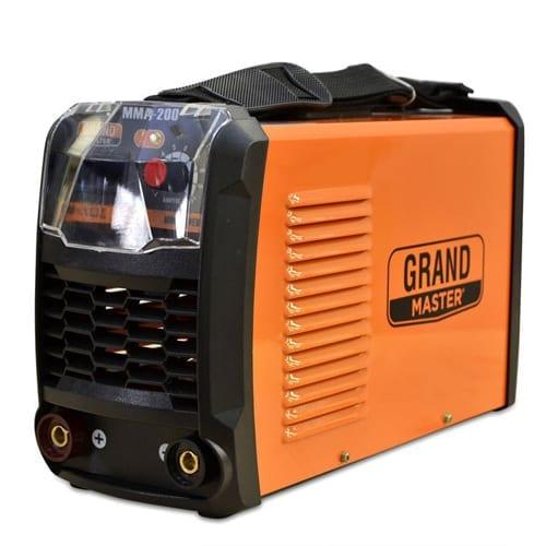 Soldadora Inverter GrandMaster Tec 200 Amp, soldadora inverter, GrandMaster 2020, grupo de soldar inverter, grand master de soldar, GrandMaster inverter, GrandMaster o stanley, i w