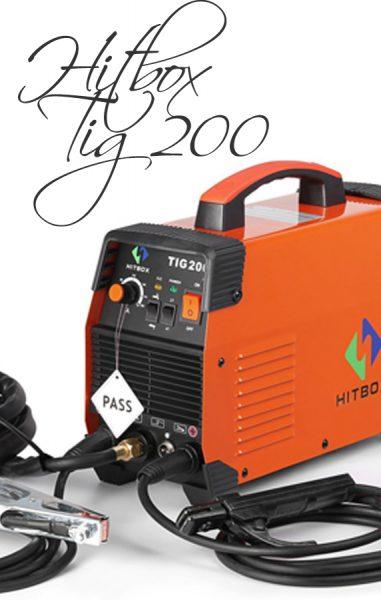 ▷ SOLDADORA INVERTER HITBOX 100 AMP ⭐Reseña Completa 2020