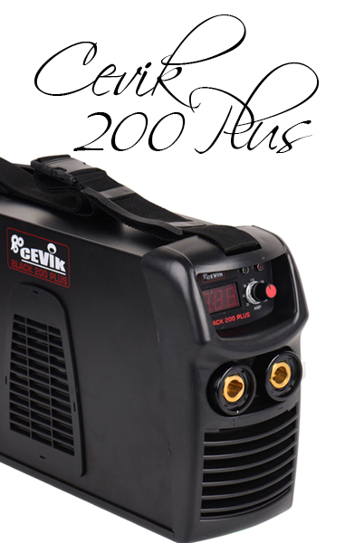 ▷ SOLDADORA INVERTER CEVIK Black 200 Plus ⭐ Análisis 2020