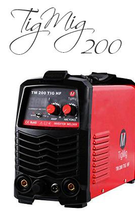 🥉 Soldadora Inverter TIGMIG 200 AMP | Análisis, precio y Características