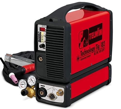 Soldadora Inverter Telwin TE-852030 Tecnología Tig 182
