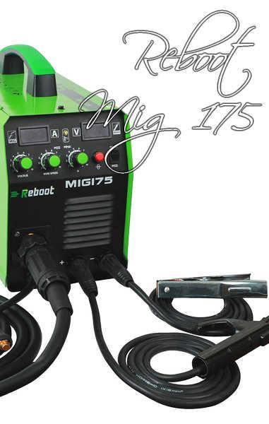 🥉 Soldador Reboot Mig 175 de Gas y sin Gas | Análisis 2020