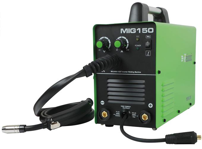 Soldadora Inverter Reboot MIG-150 Gas y No Gas DC 220V