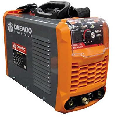Soldadora Inverter Daewoo Power DWHP 160 NL, daewoo inverter, soldadoras daewoo, soldadora inverter org, soldadoras 160 A