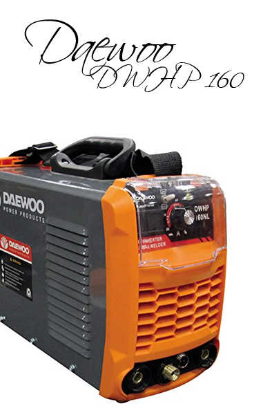 🥉 Daewoo Power DWHP 160 NL | Análisis 2020 Soldadora Inverter 160A