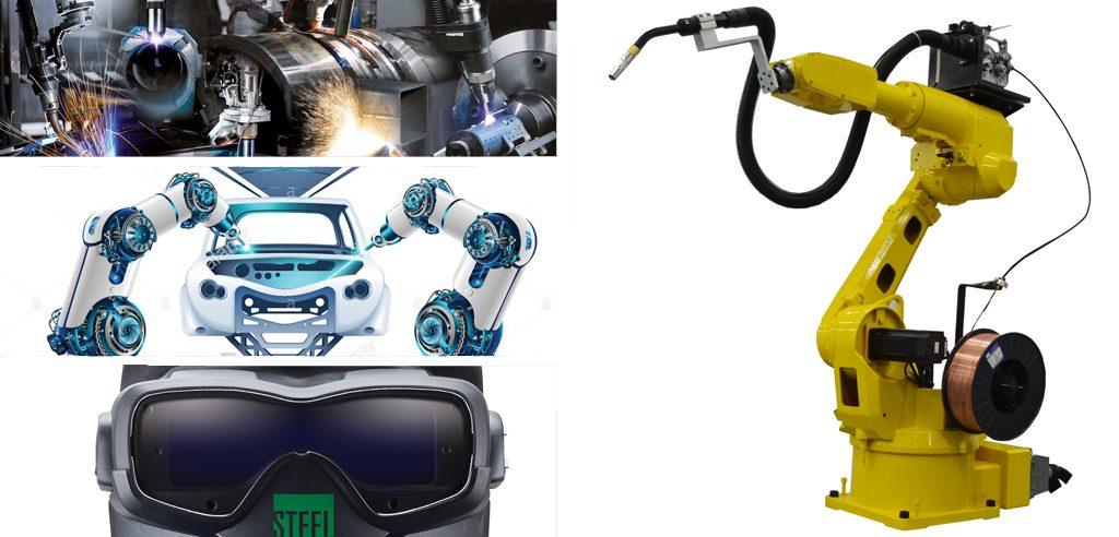 Soldadura Robótica, robot soldador, robot para soldar, estacion soldadura, soldadora inverter, robotica industrial, brazo robotico, aws soldadura, abb soldadura,