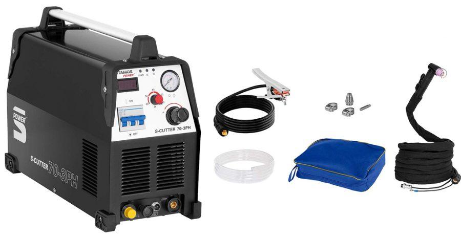 Cortadora de Plasma Inverter Stamos S Cutter 70 | Características y Precio