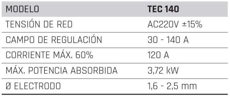 caracteristicas Metalworks TEC 140, electrodo, inverter, MEJOR PRECIO Metalworks TEC 140, Metalworks, Metalworks TEC 140, OFERTA Metalworks TEC 140, Ofertas, Otros, soldador, Soldadoras, Soldadoras de electrodo, Soldadoras de electrodos, soldadura