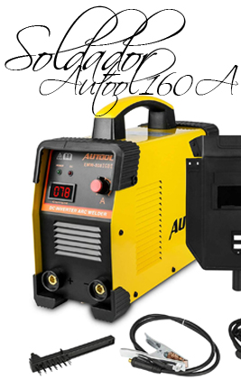🥇 Soldadora Inverter Arco IGBT AUTOOL 160A | Análisis 2020