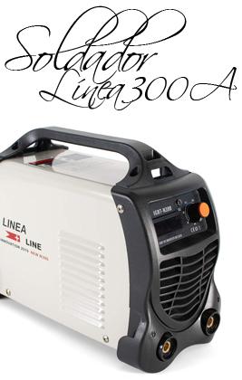 ▷ LINEA N300 Soldador Inverter 300A 15 KVA Potencia Tecnologia IGBT
