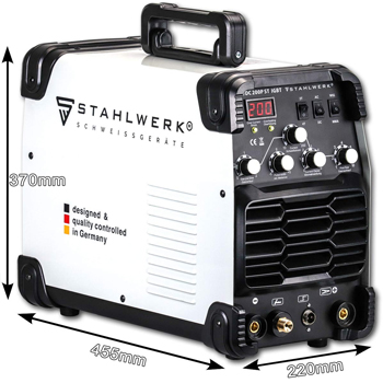 Soldadora Inverter Stahlwerk Cold Plasma Wig 200 ST IGBT, Soldadora Inverter Stahlwerk Tec Amp, soldadora inverter, Stahlwerk 2020, grupo de soldar inverter, Synectic Tec, Telwin