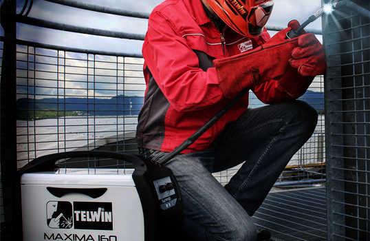Reseña Soldador Inverter Telwin Synergic Máxima 160 de Hilo MIG-MAG/FLUX