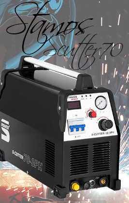 🥉 Analizamos la Cortadora de Plasma STAMOS Power S CUTTER 70
