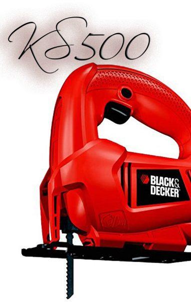▷ Analizamos la Súper Sierra Caladora BLACK & DECKER KS500-GB