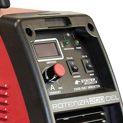equipo de soldado inverter Stayer Potenza 200 AMP, Soldador Inverter Stayer Potenza Profesional MMA-200 DC, soldadora inverter, soldadorainverter.org