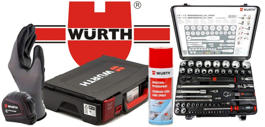 carro de herramientas wurth, wurth elektronik, wurth españa