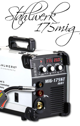 ▷ STAHLWERK Soldador Inverter MIG 175 ST IGBT | Análisis 2020