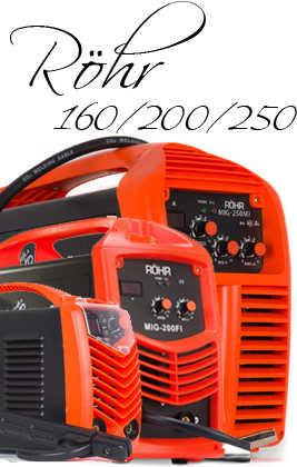 🏅 RÖHR Soldador de Arco Inverter MMA 160/200/250 Amp IGBT 2020