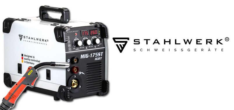 Soldador Inverter Stahlwerk MIG 175 ST IGBT Reseña 2021