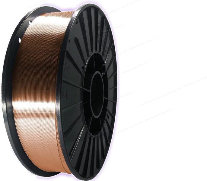 SG2 1.5125 Hilo para soldadura Rollo d100-k300 MIG / soldadura de acero mag - 5kg, 0,8mm Ø