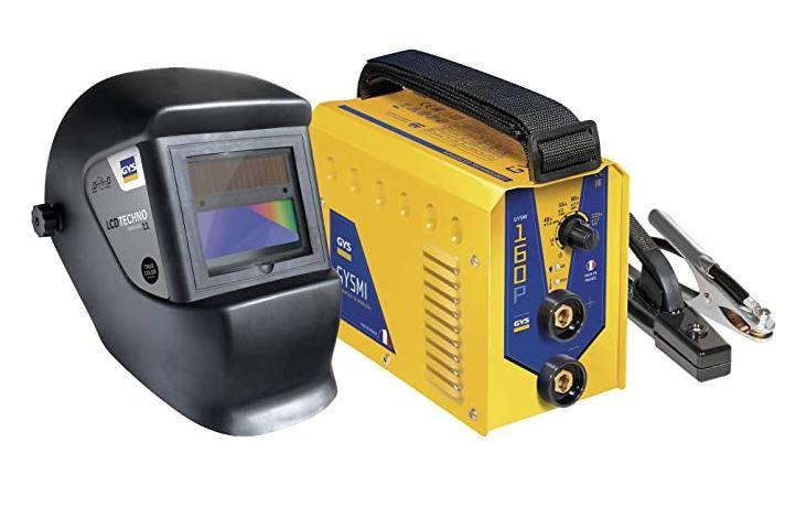Soldadora GYS Pack Inverter MMA 160P+Pantalla LCD Techno 11, 230 V