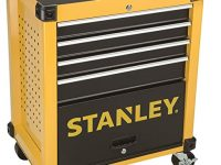 Carro metálico para taller 4 cajones Stanley