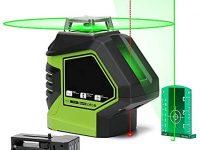 YLIK YLIK Autonivelante Nivel láser Verde Línea 360 Cruz