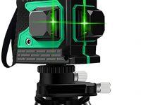WXGY 3D Nivel de Láser 12 Línea Luz verde de Alta Precisión