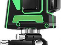 Dudumao Nivelación láser de líneas cruzadas 4X360