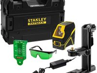 Stanley - FatMax Nivel láser de líneas verdes en cruz Fatmax a batería
