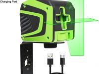 Huepar 5011G Nivel Láser Verde con modo de pulso
