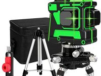 A&DW Nivel de líneas Láser horizontales y verticales de 360 °