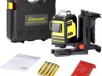 Firecore Nivel Láser Profesional Horizontal Vertical