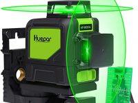 Huepar 902CG Nivel Láser 2X360 Verde 40m
