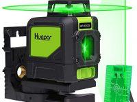 Huepar 901 CG Nivel Láser 360 Verde 40m