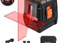 TACKLIFE Nivel láser sc-l07 avanzada Cruz rojo 20 m