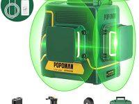 TECCPO Nivel Láser Verde, 3x360° Profesional
