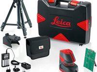 Leica Pack Nivel láser Verde de 2 líneas Lino L2G+ (30 m) + Accesorios