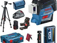 Bosch Professional Kit Completo Láser Nivelador