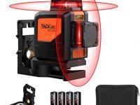 TACKLIFE Nivel Láser con Autonivelación 360º