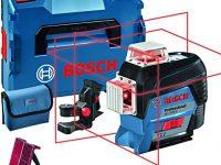 Bosch Professional Nivel Láser GLL-3-80-BM1-Akku-Linienlaser