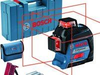 Bosch Professional Nivel láser GLL 3-80 Rojo, Alcance 30m