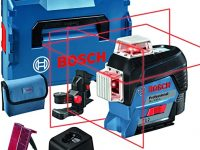 Bosch Professional Measurement Sistema 12V Nivel Láser GLL 3-80 C Maletín y Bluetooth