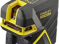 Stanley FMHT1-77438 - Nivel laser de cruz + 2 puntos – Verde. 20M