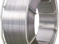 Mtc AlSi12 3.2585 Aluminio Hilo para Soldadura 1,2mm Alambre de Soldadura de Protección 7kg Rollo K300 Mig / Mag
