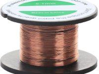 SPTwj 6 U de alambre esmaltado de cobre imán de bobinado de alambre 0,1 mm X10 m