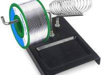 Fixget 1 mm Alambre para Soldar sin Plomo, Sn97.3% Colofonia 2% Cu0.7%  100 g (Soldar sin Plomo)