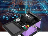 Análisis Empalmador de fusión de fibra óptica Comdy